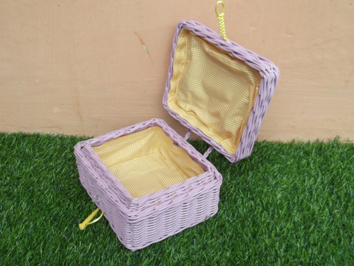 SQUARE WICKER